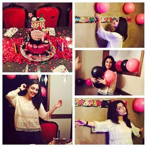 Actress Maya ali Celebrated Her Birthday
