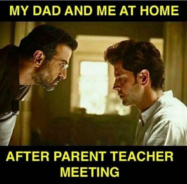 After Parent Teacher Meeting