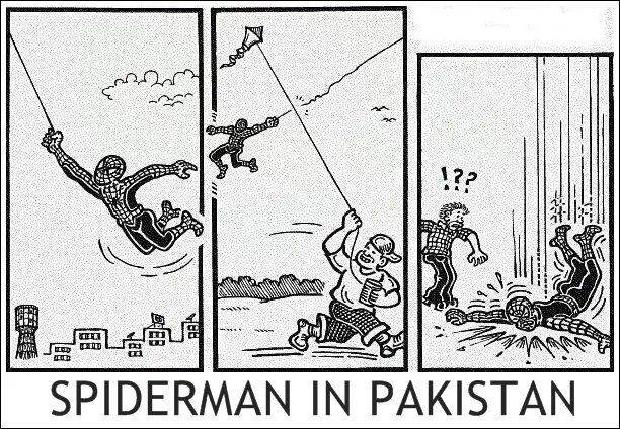 Amazing Spider Man in Pakistan
