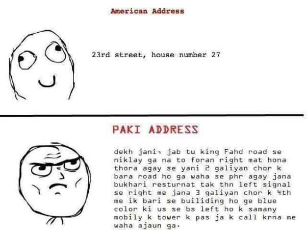 America Vs Paki Address