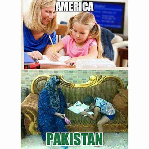 America vs Pakistan