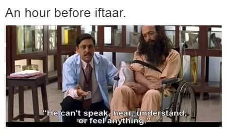 An Hour Before Iftar