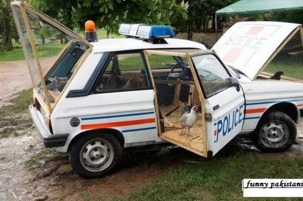 Another Use Of Police Car
