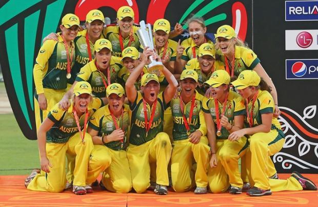 Australia Women Celebrate Their Third Successive World T20 Title