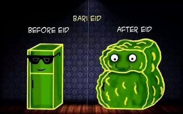 Bari Eid Before And After