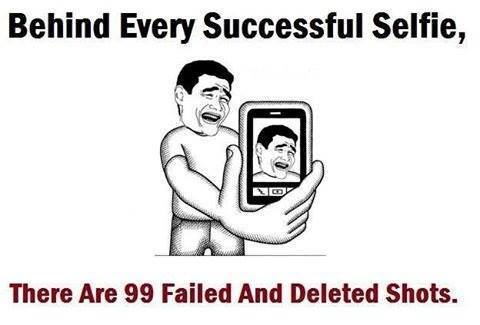 Behind Every Selfie - Funny Images & Photos
