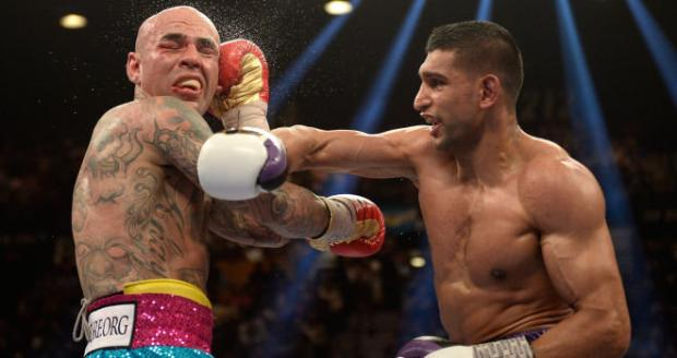 Boxer Amir Khan Defeated Luis Collazo And Become WBC