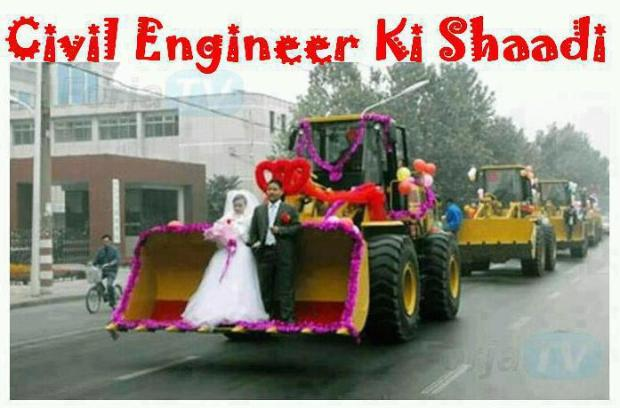 Civil Engineer Ki Shadi