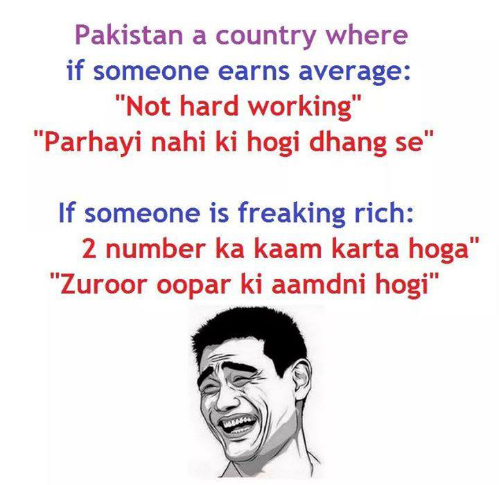 Common Thinking Of Pakistani People