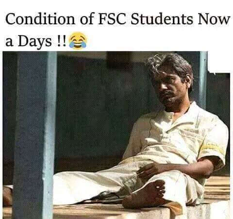 Condition Of FSC Students Now A Days