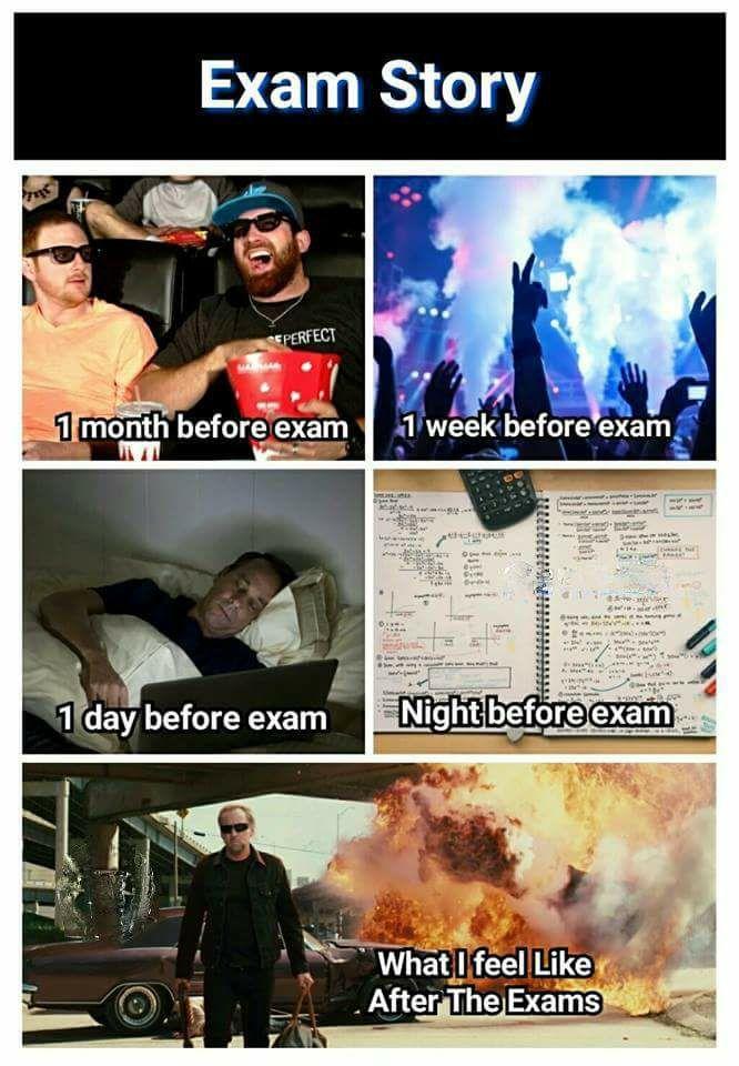 Exam Story