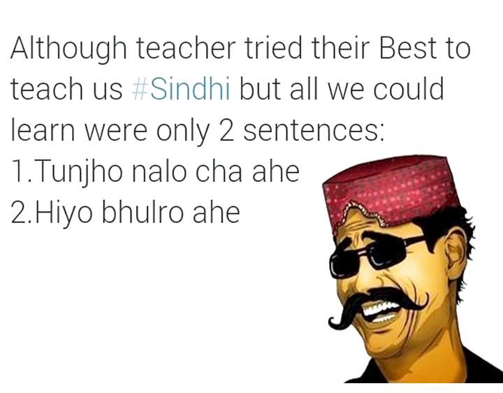 For Non Sindhi People