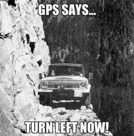 Funny About GPS