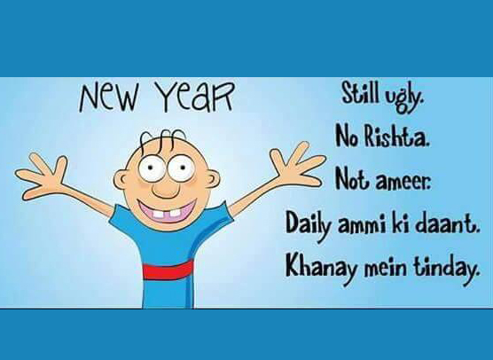 Funny New Year Pic
