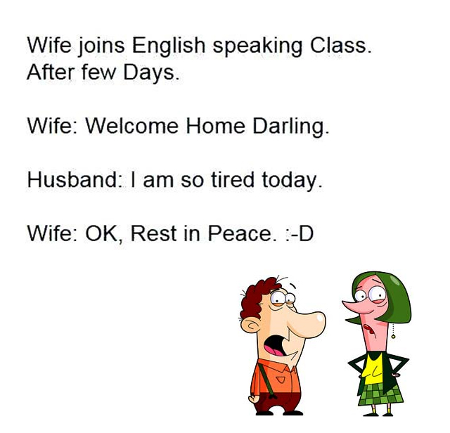 Funny Wife English Funny Images Photos