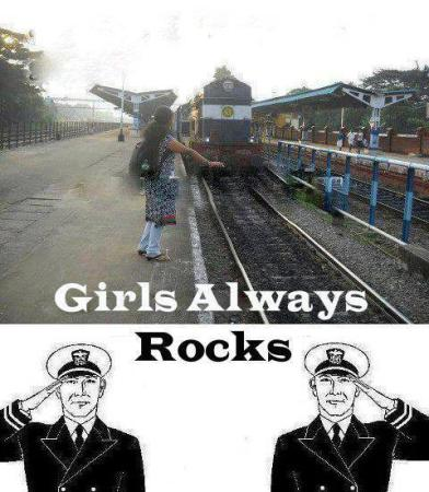 Girls Always Rocks....