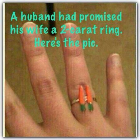 Husband Promise 2 Carat Ring