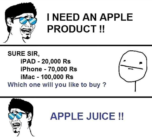 I Need An Apple Product