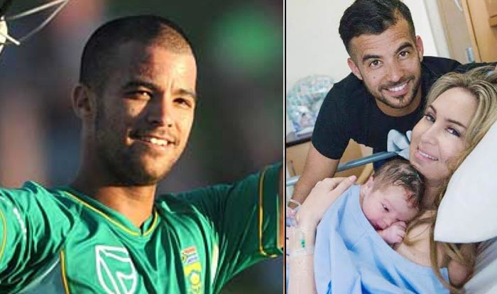 JP Duminy Blessed With Baby Girl