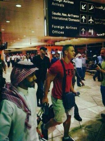 John Cena in Saudi Arabia for WWE show