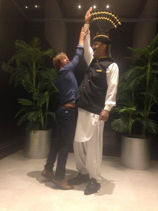 Jonty Rhodes In PC Hotel, Lahore 28 Nov 2014