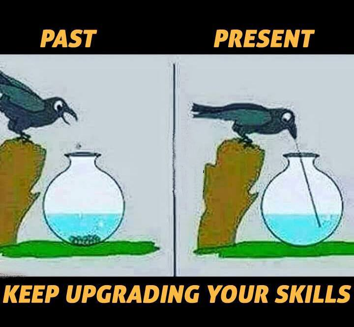 Keep Upgrading Your Skills