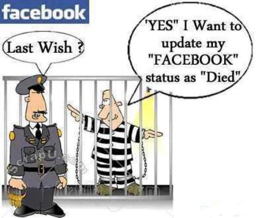 Funny Last Wish 2607 - FaceBook