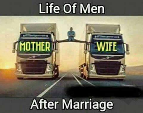 Life Of Men After Marriage - Funny Images & Photos