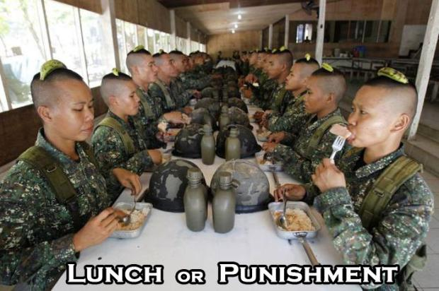 Lunch or Punishment