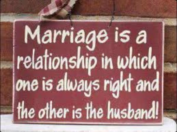 Marriage Is a Relation..............
