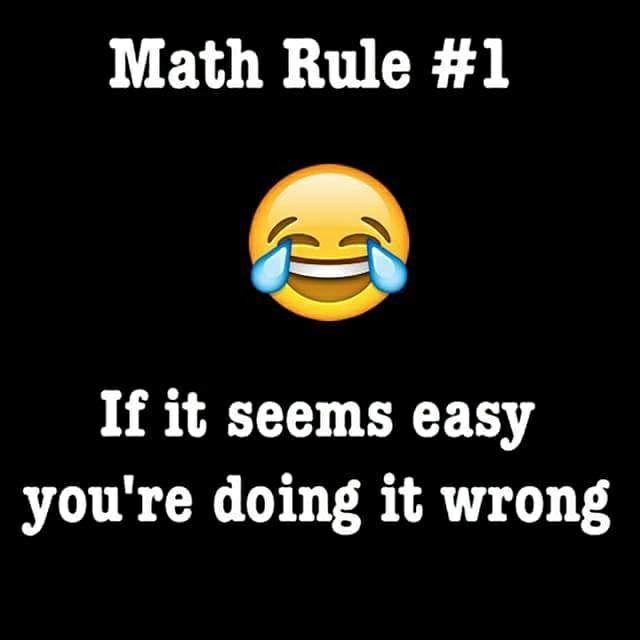 Mathematics Rule No 1