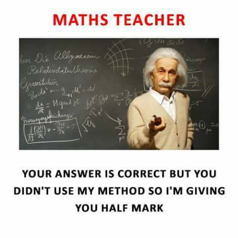 image Maths teacher like leather 2