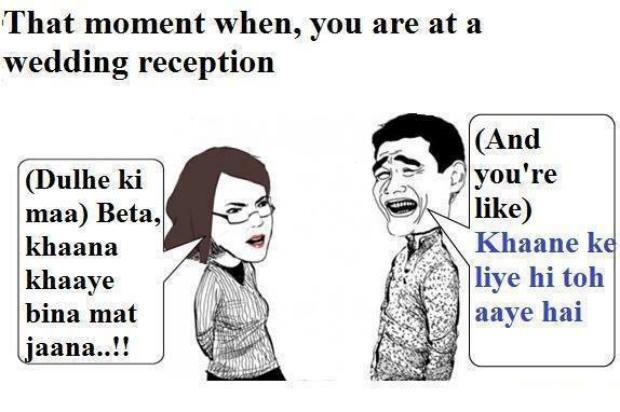 Me At Wedding Reception