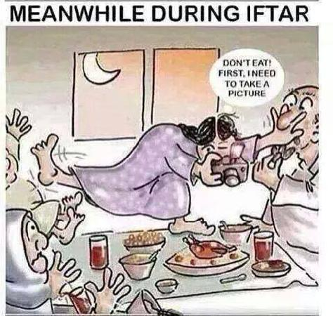 Meanwhile During Iftar