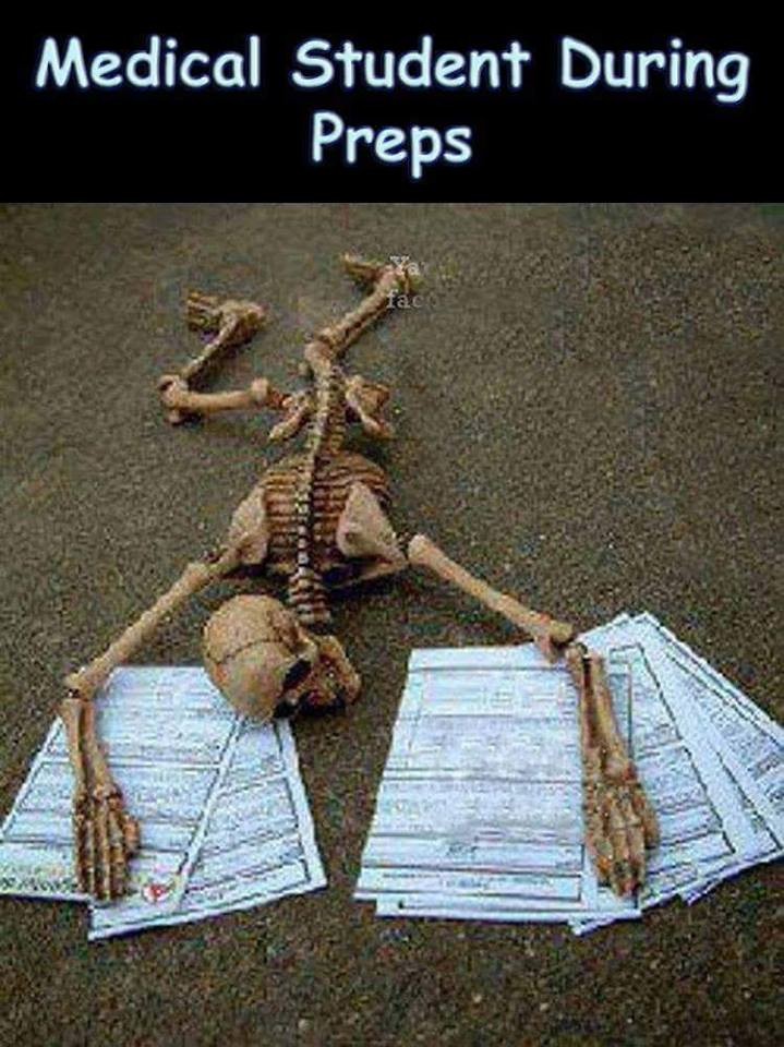Medical Students During Preps