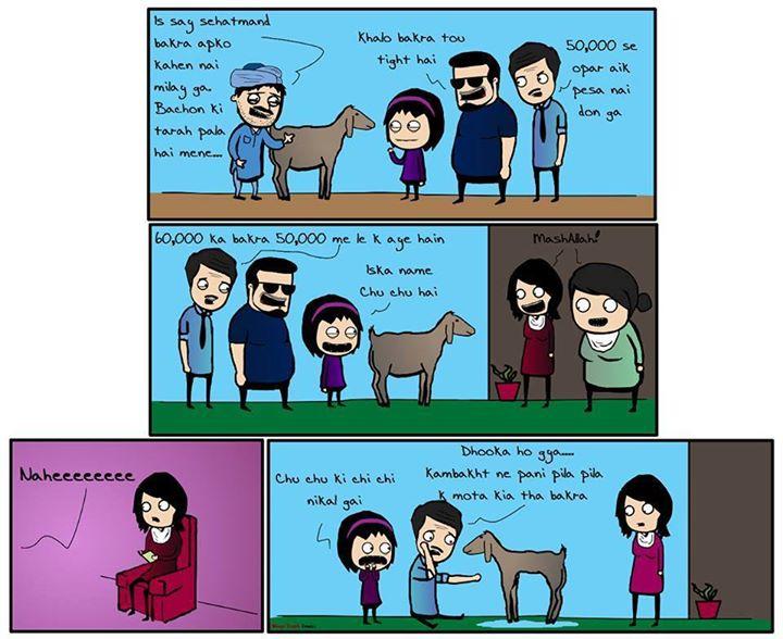 Mostly Happen On Bakra Eid - Eid Al Adha Funny Joke