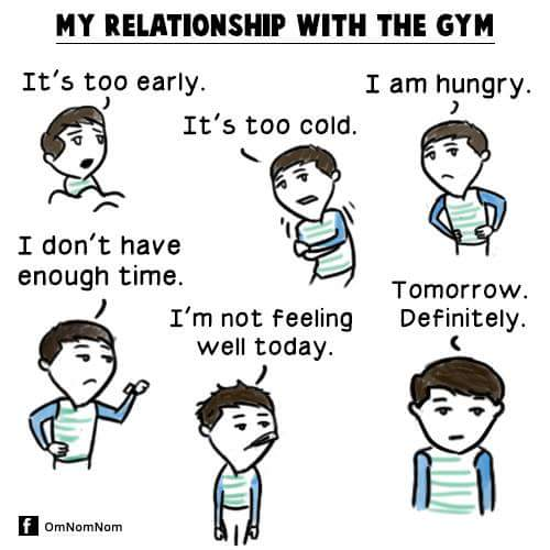 My Relationship With The Gym