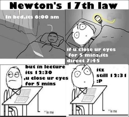 Newton 17th law