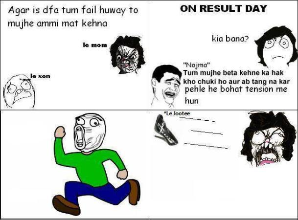 On Result Day