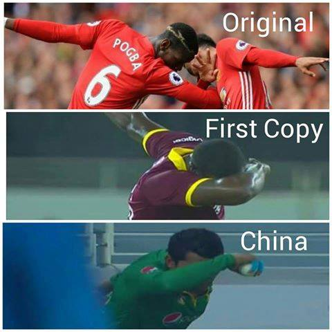 Original, First Copy & China