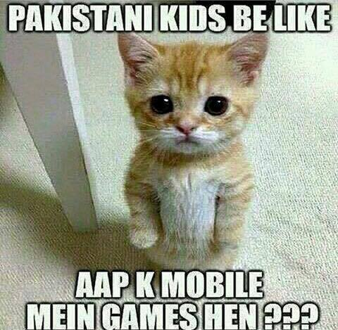 Pakistani Kids Be Like