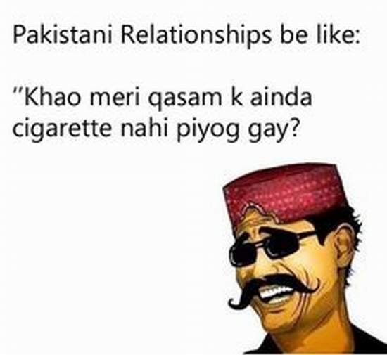 Pakistani Relations Be Like