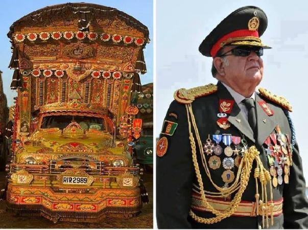 Pakistani Truck and Afghan Truck