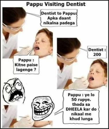 Pappu And Dentist
