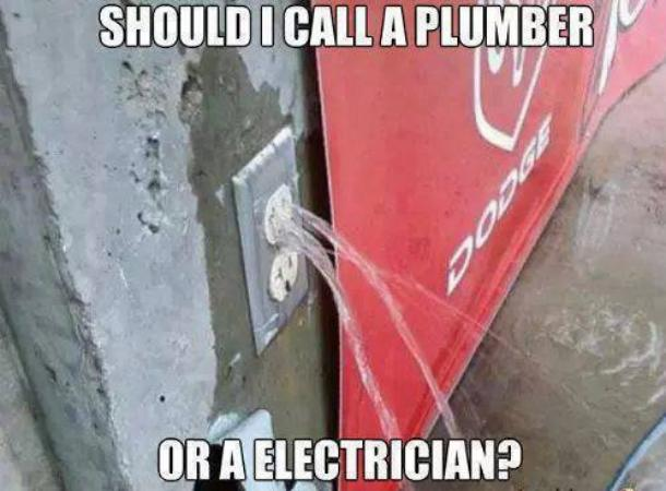 Plumber Or Electrician