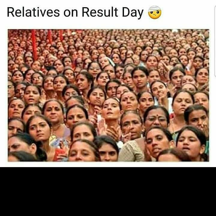 Relatives On Result Day