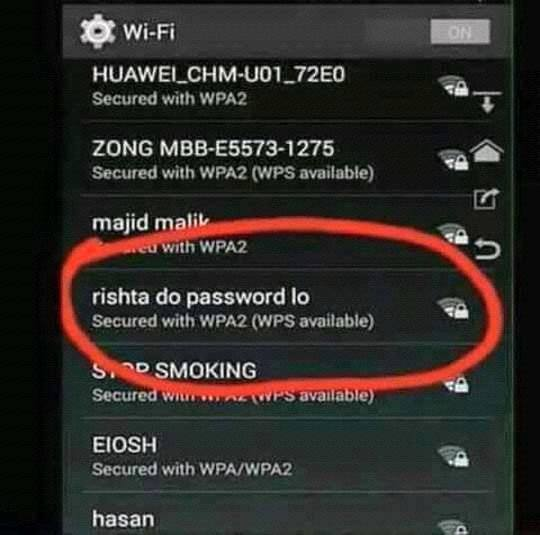 Rishta Do Password Lo