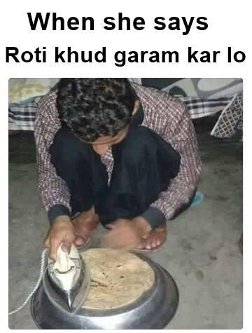 Roti Khud Garam Karlo