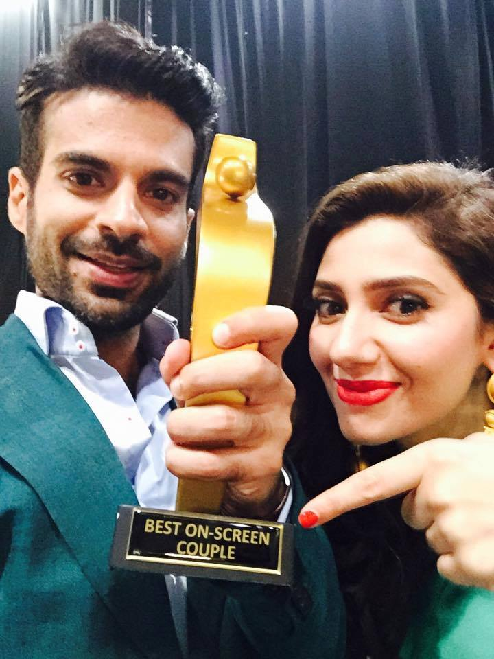 Sadqay Tumhare Couple Won Best Screen Couple Award