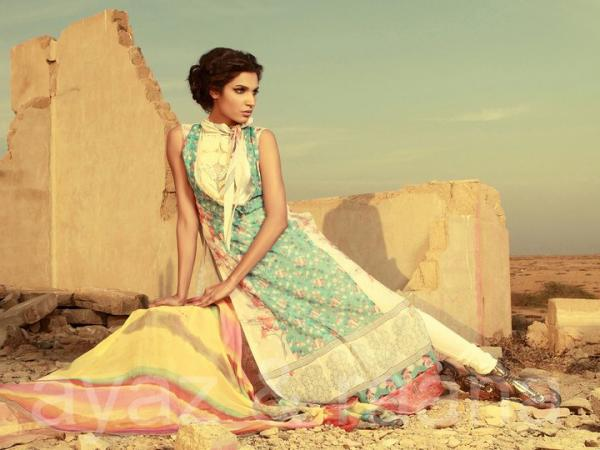 Sana Salman Lawn Summer Collection